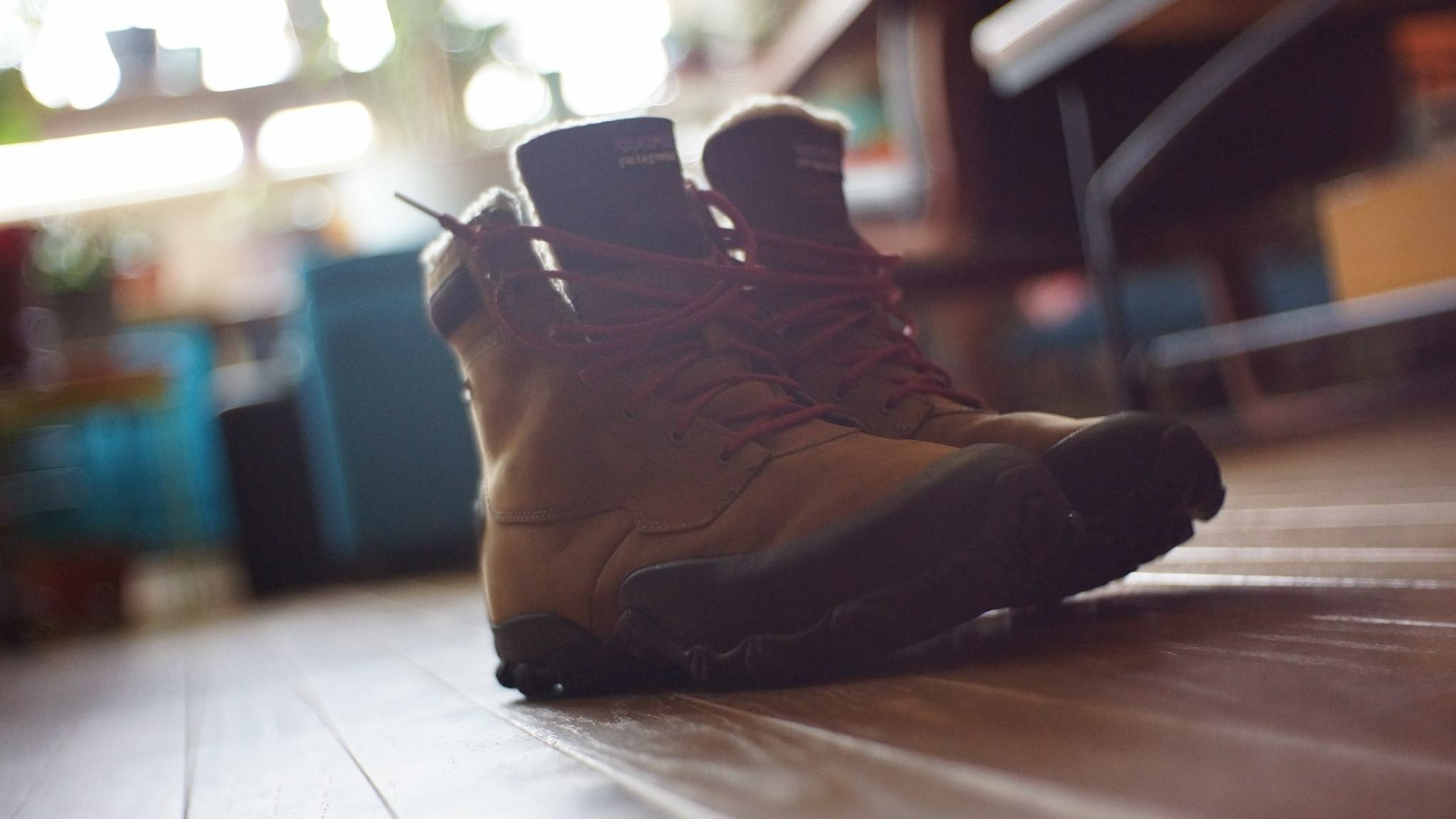 Patagonia Boots Drifter Fujian 35mm 1.6 lens on Sony Nex-7 Body